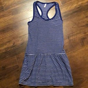 Gap body terry cloth cover up with pockets